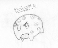 FEAR THE BUTTONS by Scribbabbles