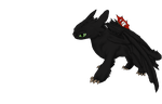 Toothless HTTYD2 by therealtwilightstar