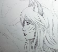 Ahri- profile by BlackRoseXOX