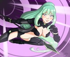 Green Heart - Neptinia by Plixs-1
