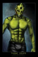Hardest Decision Series: Thane Krios by razorblade456