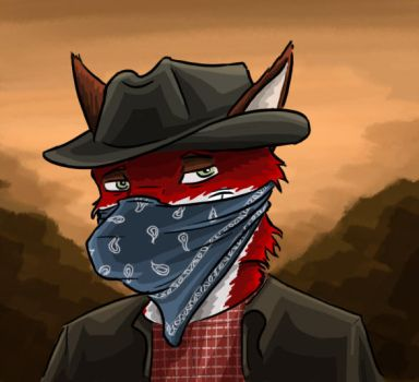 gift: Wild west robber Kian by SteinWill