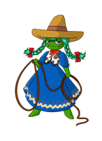 Cactus Girl by Meb90