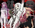 Shiro, Yuno, and Lucy wallpaper. by aliena28898