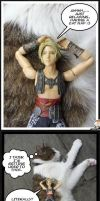 Vaan and Tilly cat nap by Miss-Sweetlivvy