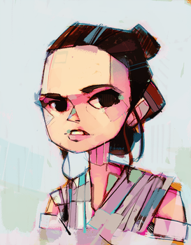 Same ol' Rey by michaelfirman
