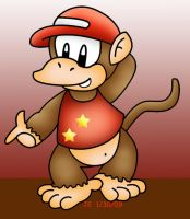 Diddy Kong by Not-WisqoXD