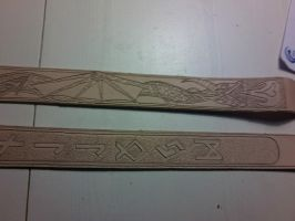 Belt Engravings WIP by davevdveer