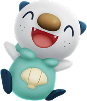 Super happy Oshawott by ryanthescooterguy
