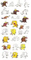 Angry Beavers sheet by Spectrumelf
