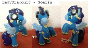 MLP: FIM Soarin Wonderbolts custom Blind Bag Pony by LadyDraconic