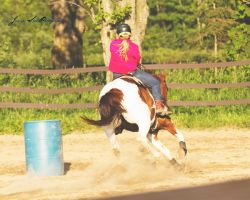 Barrel Racing 1 by OMeggPhoto