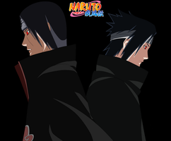 Itachi Vs Sasuke by KuramaNineTails