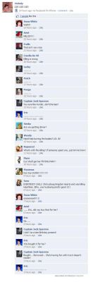 Disney Meets Facebook: 22 by Twird96
