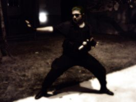 My cosplay Wesker by Cris-Nemesis