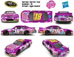 MLP NASCAR Theme Design by Fuzon-S