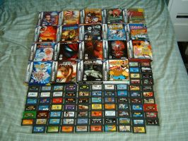 My Game Boy Advance Collection by TinytheGiant