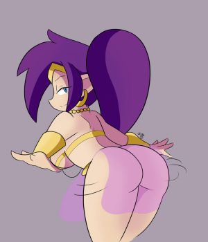 shantae belly dance by Scrabble007