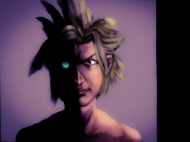 Cloud Strife X soldier by Gman20999