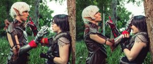 Don't speak - Dragon Age 2 Cosplay by Soylent-cosplay