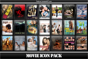 Movie Icon Pack 46 by FirstLine1