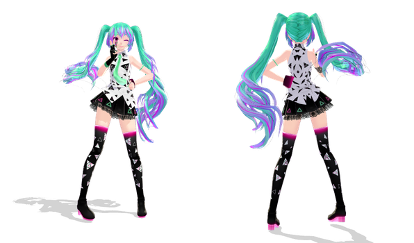 Xtrange Miku by Orion-P