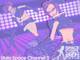 MMD ET Space Channel Ulala by brenokisch