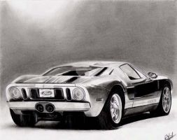 Ford GT40 by danUK86