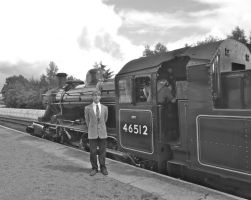 The Young Railway Enthusiast by SteamRailwayCompany