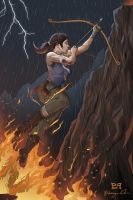 Rise from the Flames: tombraiderREBORN by silence17