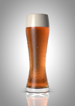 Photorealistic Beer - Standard Render by DigitalMistDesigns