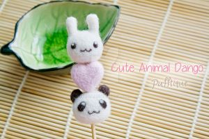 Cute Animal Dango by li-sa
