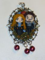 Neal and Emma in polymer clay! by Teodora85