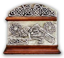 CELTIC  CHEST 3 - SIDE. by arteymetal