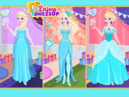 Elsa - Now and Then Sweet Sixteen game by Astrogirl500