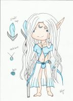 Moon Elf Adoptable Sold! by SapphireAngelBunny