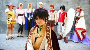 Escaflowne Group by august-fehrmont