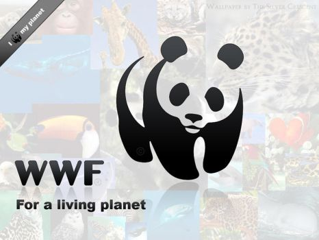 WWF wallpaper by The-Silver-Crescent