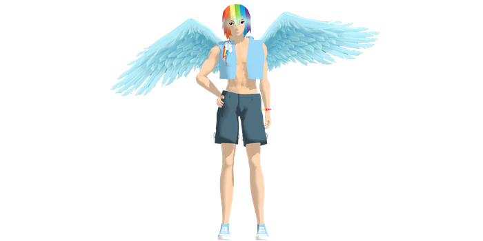 .:MMD:. Ohai updated rainbow blitz by MrsMinnieMinnie123