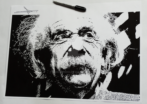 Albert Einstein by YuriGondo