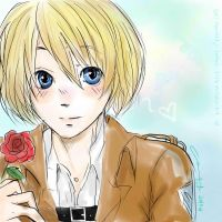 Armin Arlert. by littlemissmarikit