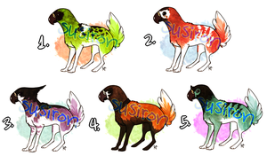 Fluffy Tail Gryph Adopts by Susadopts