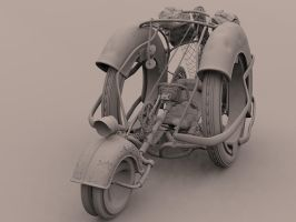 Bicycle concept WIP preview 1 by theGeorgeous