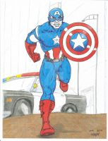 Avengers Captain America by Crash2014