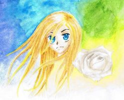 Golden Hair and the White Rose by Pabbit-da-rabbit