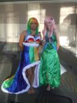 Megacon, Orlando 2012 Rainbow and Fluttershy by Ever-Rin