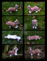 Plushie: Dinis the Stoat by Avanii