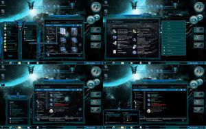 Glass Aqua Windows 7 Themes by customizewin7