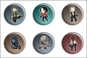 Left 4 Dead Buttons by Maxx-V