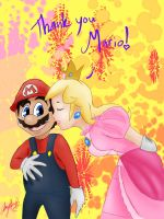 Thank You Mario by AmmyWolf95